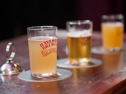 Tap Brewing Company beer samples