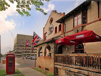 Exterior of Pints Pub