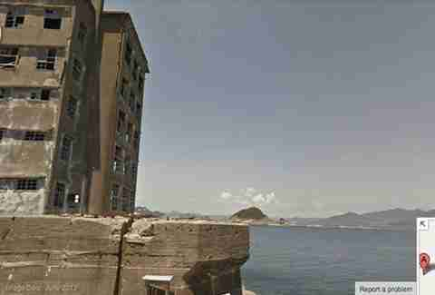 Hashima Island in Nagasaki, Japan