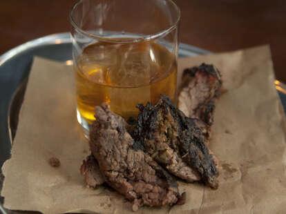 Brisket bourbon at CU29 Cocktail Bar