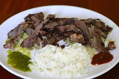Neau Yang steak at Kala Noodle & Grill.