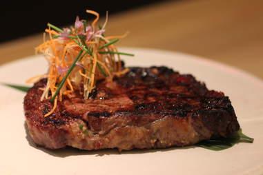 Steak at Roka Akor