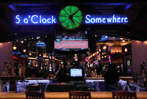 The Five o Clock Somewhere Bar at Margaritaville Atlantic City