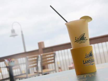 The Shark Tank lager Margarita at Landshark Bar & Grill in Atlantic City