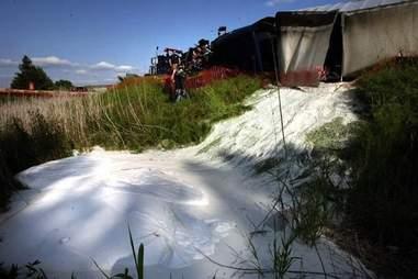 Tanker spill in Washington state.