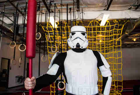 Hot Lava Obstacle Course stormtrooper