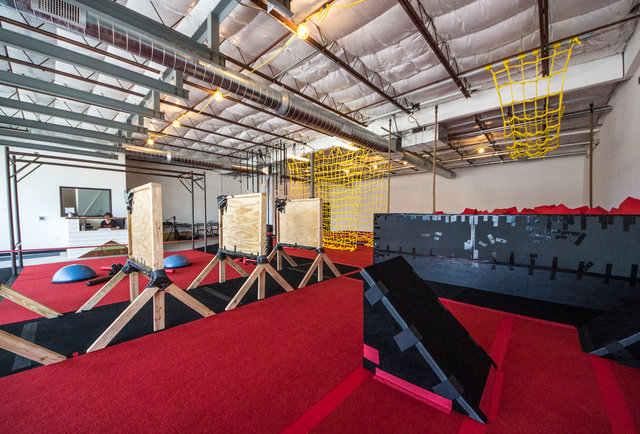 This stormtrooper shows you how to tackle Austin\'s new lava-filled obstacle course. And breakdance.