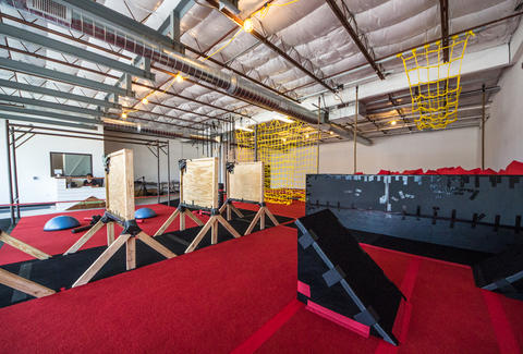 Hot Lava Obstacle Course interior