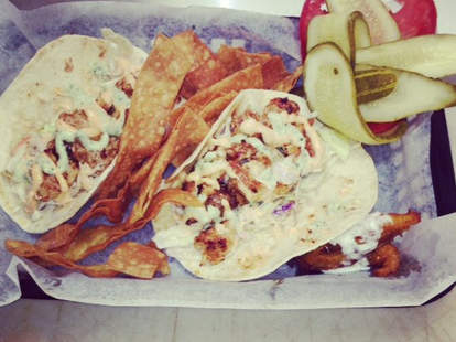 Gator Tacos at Gator Grill 192