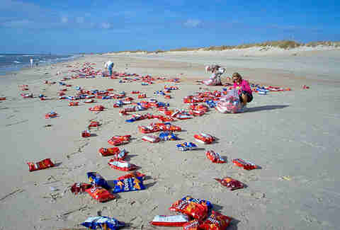 Doritos Spill, North Carolina