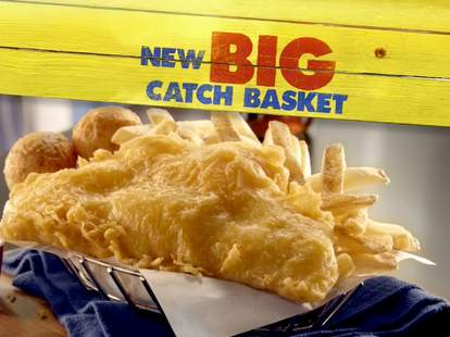 Long John Silver's Big Catch Basket