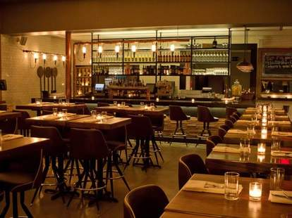 Interior of Cucina Asellina