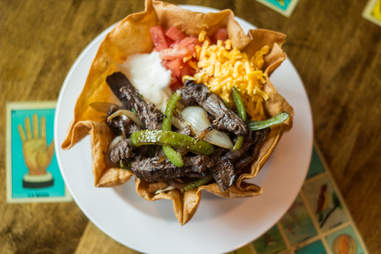 Mijo's taco salad