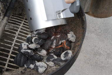 Create Heat Zones While Grilling in Brooklyn Bridge Park