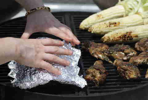 Cover it up - Grilling in BK Bridge Park