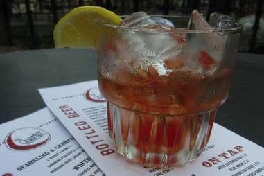 SoCo Sazerac at Quarter Bar, Dallas TX