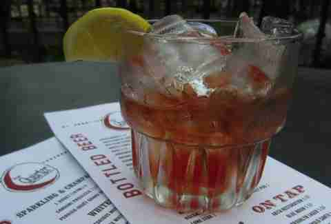 SoCo Sazerac at Quarter Bar, Dallas TX