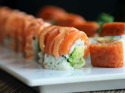 Sushi from Ginger Exchange