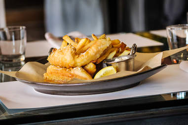 Fish and Chips at Fish Public in San Diego.