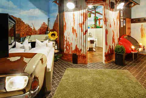Car Themed Bedrooms In German Hotel Thrillist