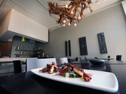 OON octopus confit Chicago