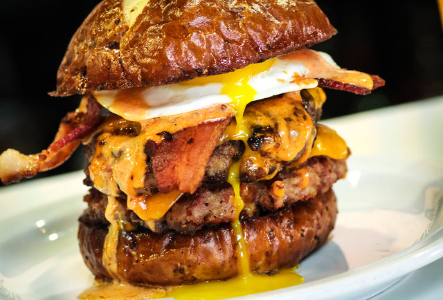 The all-bacon \'Merica Burger has taken bacon to new heights