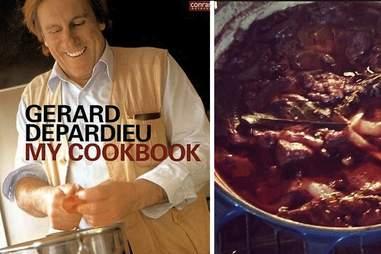 Gerard Depardieu's My Cookbook.