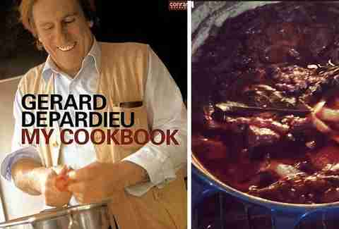 Gerard Depardieu's My Cookbook.