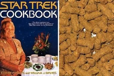 The Star Trek Cookbook.