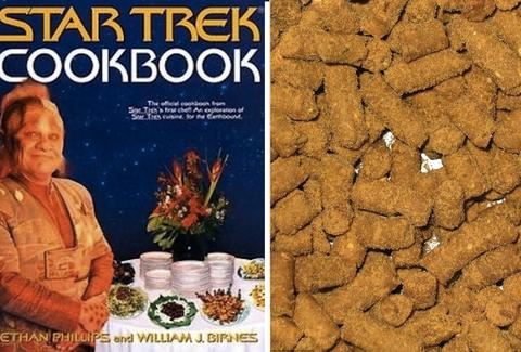 The Star Trek Cookbook.