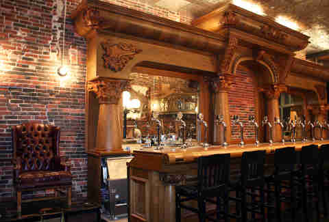 The bar at Stoddard's