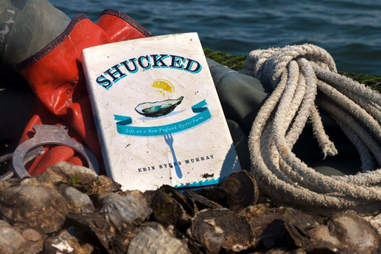 "Copy of the book ""Shucked"" by Erin Byers Murray"