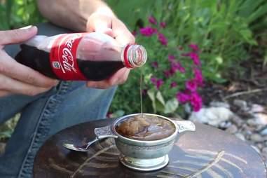 Coke slushie