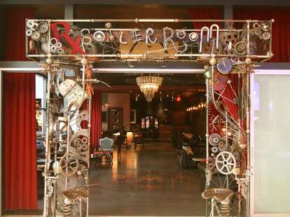 Rx Boiler Room -- entrance