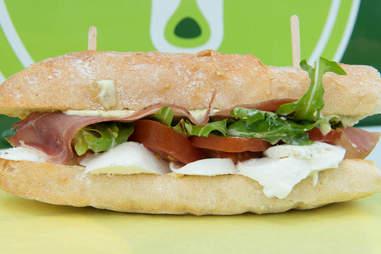 Nosh Caprese Sandwich