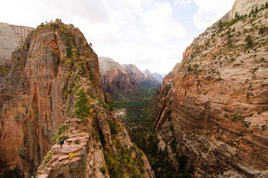 Angels Landing trail Zion National Park