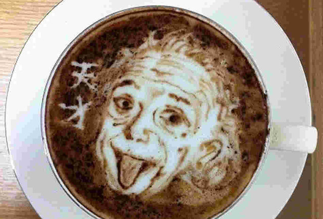 How to see Jesus, the Predator, and your own face in a cup of coffee