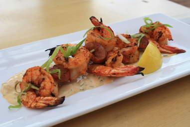blackened grilled shrimp at Hi Jax