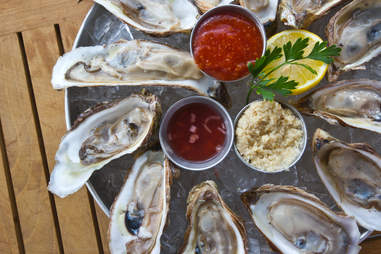 Hugo's Oyster Bar - Gulf Oysters on the Half Shell