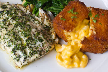 Hugo's Oyster Bar - Grilled Rainbow Trout