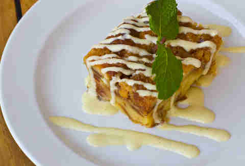 Hugo's Oyster Bar - Brioche Bread Pudding