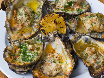 Hugo's Oyster Bar - RC's Chargrilled Oysters