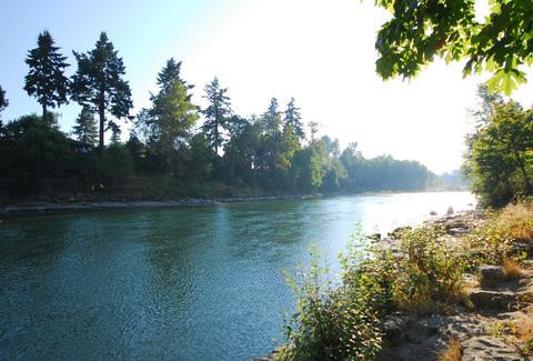 high rocks clackamas river oregon