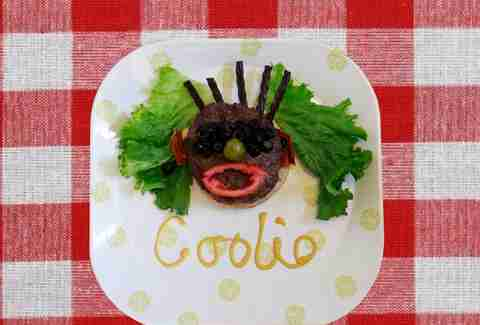 Coolio fun with food