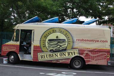 The Reuben on Rye Truck