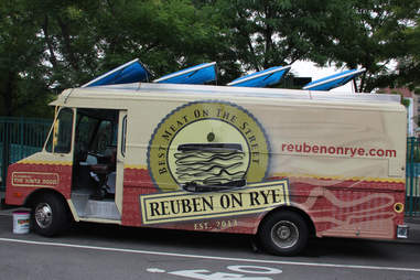 The Reuben on Rye Truck