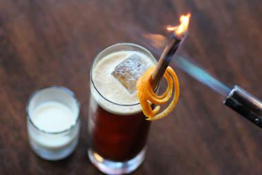 The Cream Car Bomb Coffee Cocktail by Mark Brinker, Barrelhouse Flat