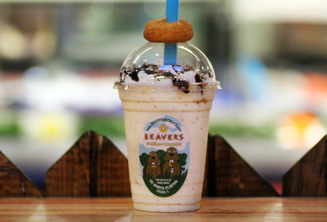 Finally, someone has created the donut milkshake