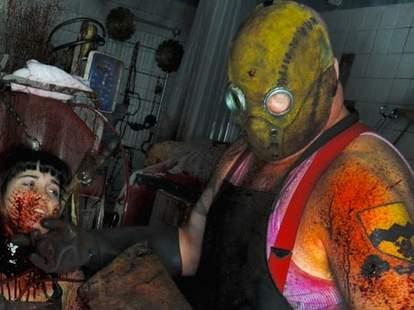 Horror scene at Eli Roth's Goretorium in Las Vegas