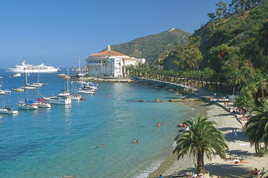 decanso beach catalina